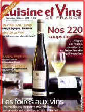 Cuisine et Vins de France H25 092018